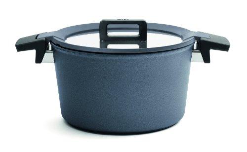 Woll 124CPI Concept Plus - Cazuela (Hierro Forjado, 24 cm, para cocinas de inducción, 13,5 cm de Alto, 5 L, con Tapa)