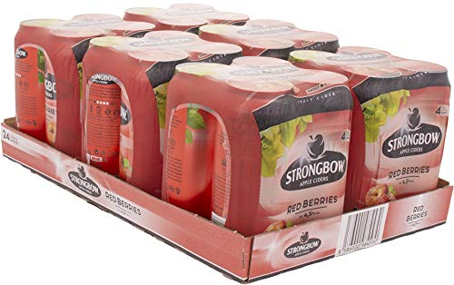 Strongbow Cider Red Berries Cider (24 x 440 ml)