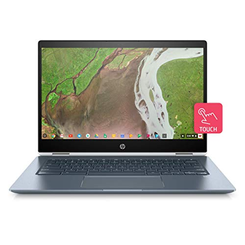 HP Chromebook x360 14-da0002nf PC Portable 14'' FHD IPS Blanc (Tactile, Intel Core i5, 8 Go de RAM, 64 Go de Stockage, AZERTY, Chrome OS)
