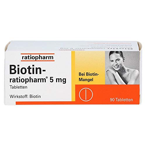 BIOTIN-RATIOPHARM 5 mg Tabletten 90 St