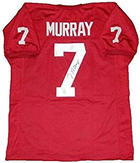 autographed demarco murray jersey