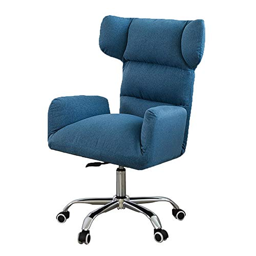 R & R Enterprises PU Office Chair Adjustment Game Chair Lounge Chair Recliners For Patio Work Chair Executive Rotating Chair (Color : A1, Size : One Size)