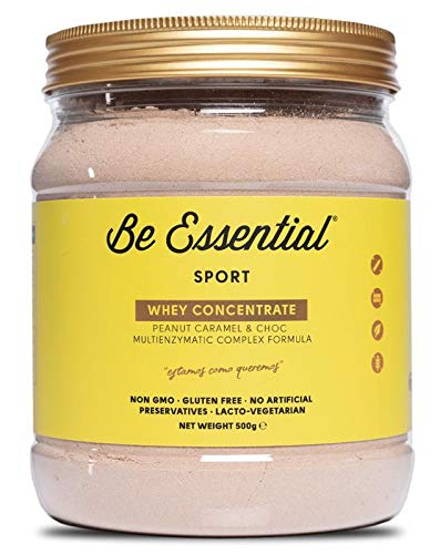 Be Essential Whey Concentrate Peanut, Caramel and Chocolate, 500 g