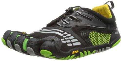 Vibram 5 Doigts pour Homme Komodo LS M Multisport Chaussures - Noir - Noir/Vert, 42 EU