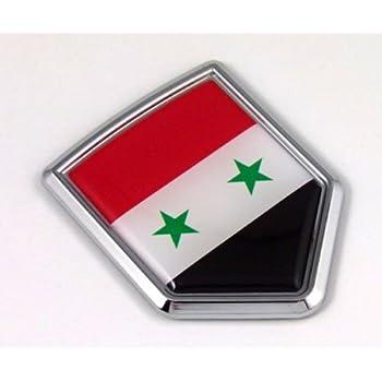 Syrien SYR csd0013 Autoaufkleber Sticker Aufkleber KFZ Flagge