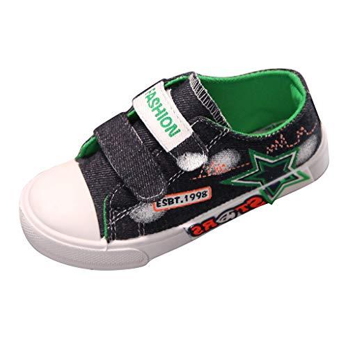 WEXCV Unisex Baby Jungen Mädchen Sneaker Pentagramm Herbst Weiche Sohle Freizeitschuhe Lauflernschuhe Segeltuchschuhe Outdoor Sportschuhe