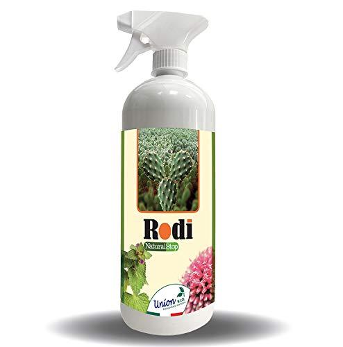 Repellente Spray Per Topi 1Litro Rodi Natural Stop - Scaccia Topi, Esterno, Interno, Anti Topi, Scaccia Ratti, Professionale, Ecologico, Made In Italy