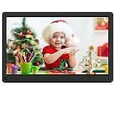 Digital Photo Frame Kenuo 15 Inch 1920x1080 High Resolution Full IPS Display Motion