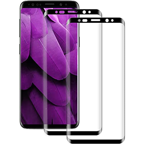 [2 Stück] Panzerglas Schutzfolie Kompatibel mit Samsung Galaxy S9, HD Displayschutz, 9H Härte, Ultra-Klar, Anti-Bläschen, Blasenfreie, Schutzfolie für Samsung S9