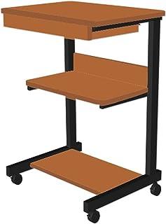 Stand d'imprimante mobile sous forme d'imprimante de bureau sur des roues à 360 ° avec des étagères de stockage de 3 nivea...