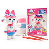 Air Dough Collectibles - Lulu (Poodle) - Character Creation Kit, DIY Kit, Kids Gifts, Craft Set for Boys & Girls by Scentco