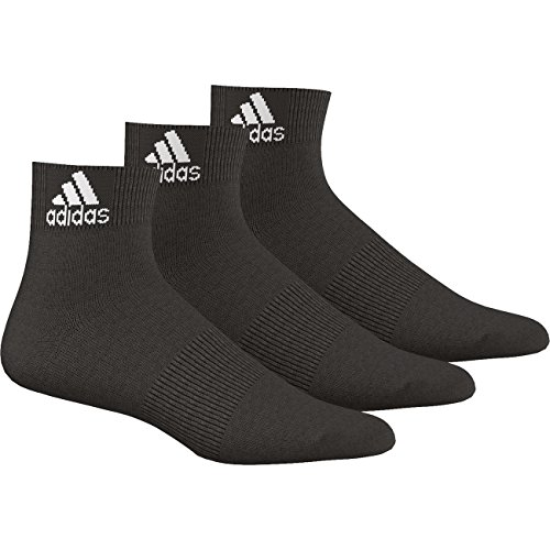 adidas Quarter Performance Ankle Thin 3pp 6Pack Negro Schwarz (AA2321)