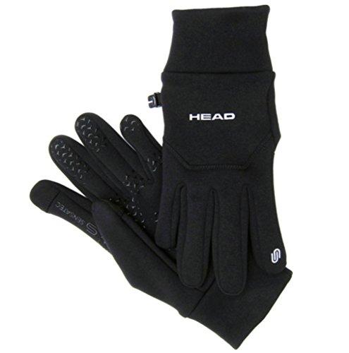 Head: Multi-Sport Gloves with SensaTEC, Black, Large