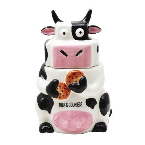Ceramic Cow Cookie Jar