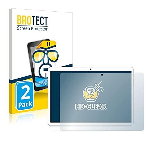 BROTECT Schutzfolie kompatibel mit Goodtel G3 (2 Stück) klare Bildschirmschutz-Folie