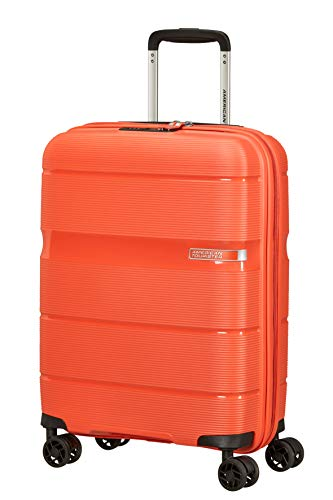 American Tourister Linex Hand Luggage Small (55 cm - 34 L), Orange (Tigerlily Orange) (Orange) - 128453-8426