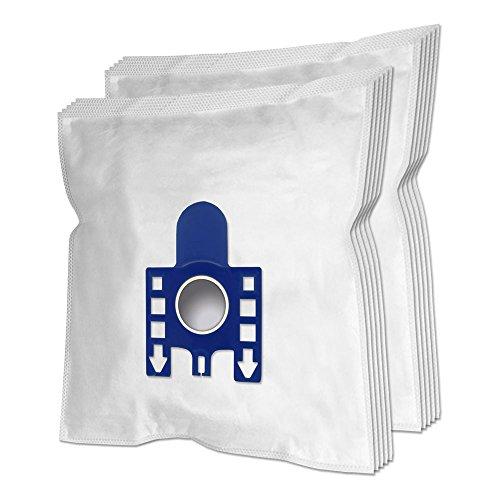 MohMus 10 Premium Sacs d'aspirateur pour Miele White Pearl (Turbo), Complete C3, C3 Ecoline, C3 Parquet, C3 Silence, S300I, S2110, S334, S381, S2111, S311, S334I, S382, S2120, S312, S344, S384
