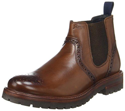 Sioux Endru, Herren Chelsea Boots, Braun (Cognac), 44 EU ( 9.5 UK)