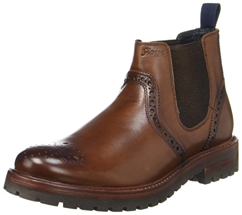 Sioux Endru, Herren Chelsea Boots, Braun (Cognac), 40.5 EU ( 7 UK)