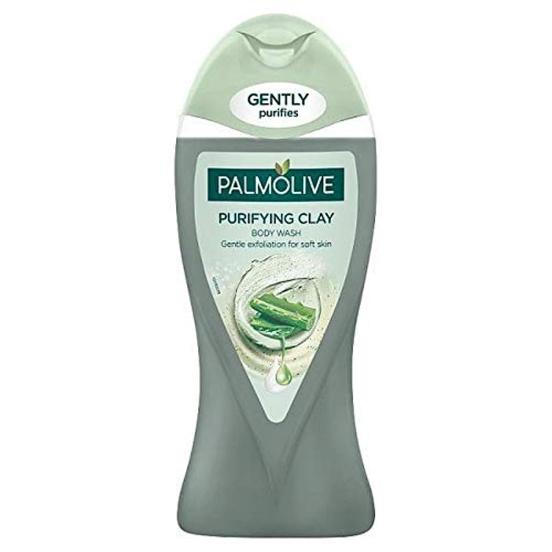 ユーモラスギャング上昇[Palmolive ] アロエベラボディウォッシュ250ミリリットルとパルモ浄化粘土 - Palmolive Purifying Clay with Aloe Vera Body Wash 250ml [並行輸入品]