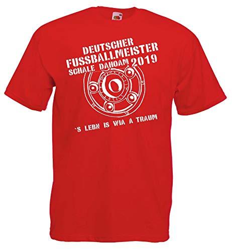München Herren Meister Schale Dahoam 2019 Ultras Fan T-Shirt