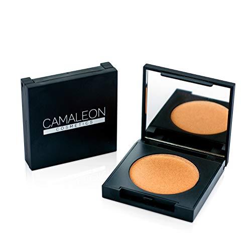 Camaleon Cosmetics, Iluminador Natural Bronce, 1 unidad, 2.5g