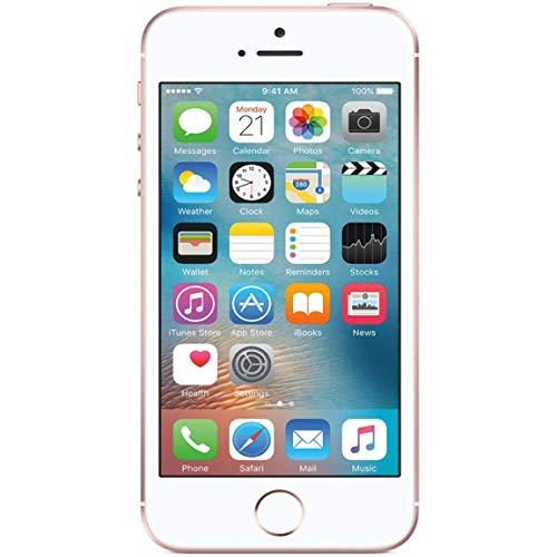 Apple iPhone SE, 16GB, Rose Gold - Fully Unlocked (Renewed)