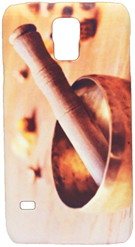 tibetan singing bowl on a wooden table cell phone cover case Samsung S5