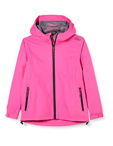 CMP Mädchen Windproof and Waterproof rain Jacket WP 10.000 Regenjacke, Bouganville, 152