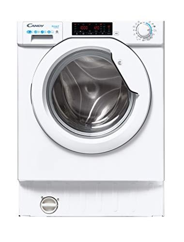 Candy - CBD 485TWME/1-S - Lavadora secadora integración, 8+5 Kgs, 1400rpm, Inverter, 7 programas rápidos, 48dba, Clase A