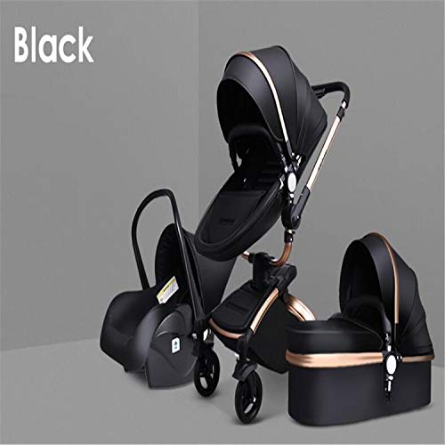 Find Cheap BABIFIS Baby Strollers 3 in 1 PU Leather Baby Carriage Eco-Friend Strong Light Baby Pram ...