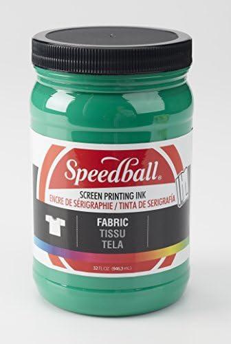 Speedball Fabric Screen Printing Ink, 32-Ounce, Black