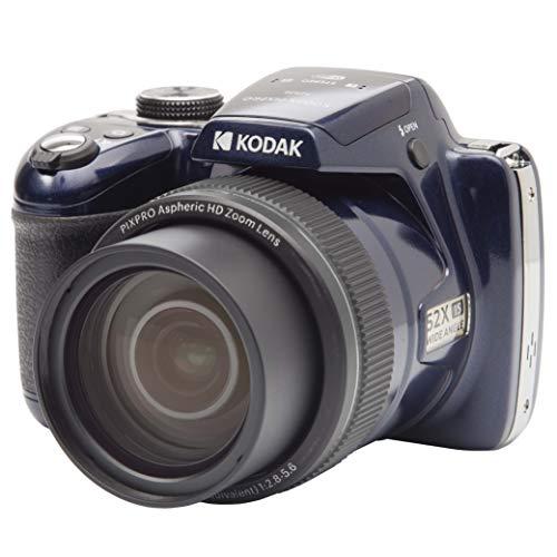 KODAK Pixpro AZ528 – Appareil Photo Bridge Numérique (16 MP CMOS, Zoom Optique 52X, Vidéo Full HD, Écran LCD 3'', WiFi) Bleu Nuit