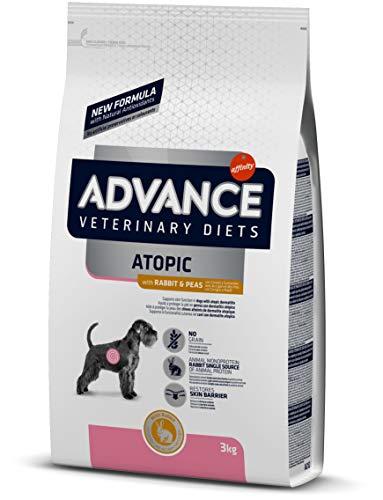 ADVANCE Veterinary Diets Atopic Care Medium/Maxi - Pienso Para Perros Adultos Con Problemas Atópicos De Razas Medianas y Grandes Con Conejo - 3 kg