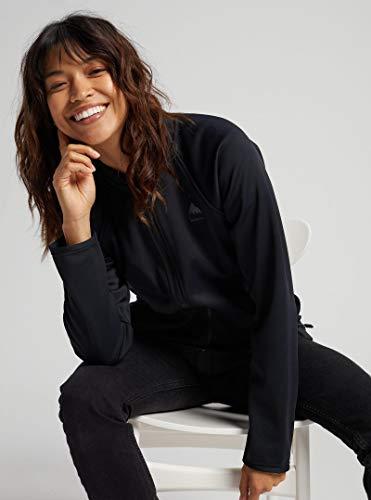 Burton – Kapuzen-Sweatshirt Crown Weatherproof Track True Black Damen – Größe M – Blau