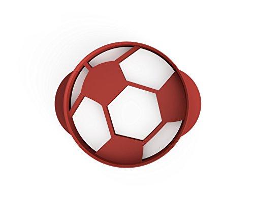 3DreamsDesign Retro Fußball Ausstecher 4,5cm perfekt zur WM oder zu Fußball Partys (4,5cm)