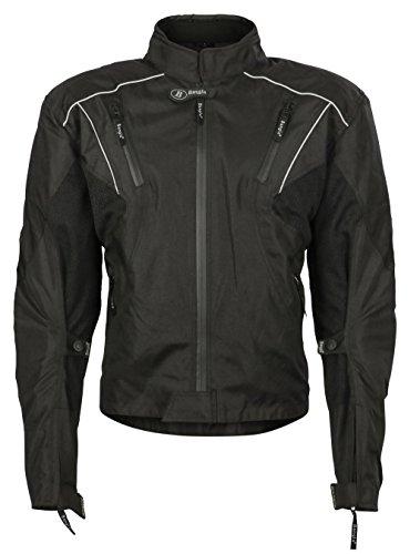 Ledershop-online Bangla Sport Motorradjacke Textil Bikerjackeacke Cordura kurz 1931 schwarz XXXL