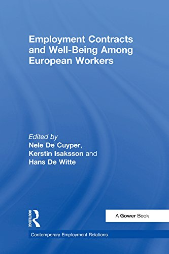 Employment Contracts and Well-Being Among European Workers (Contemporary Employment Relations) (English Edition)