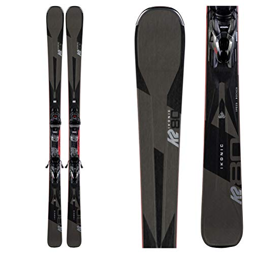 K2 iKonic 80 Skis + M3 10 Bindings - Men's - 2020-177 cm
