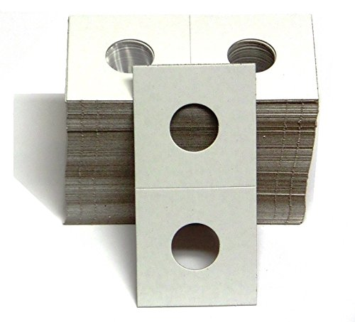 1-100 Pack of 2×2 Small Cent Coin Cardboard Holder –