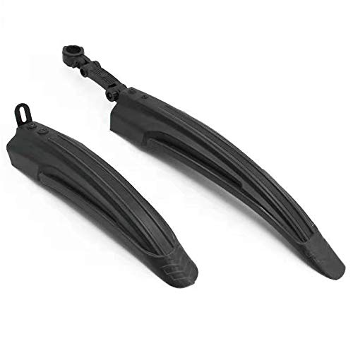 BlueSunshine Adjustable Road Mountain Bike Bicycle Cycling Tire Front/Rear Mud Guards Mudguard Fenders Set