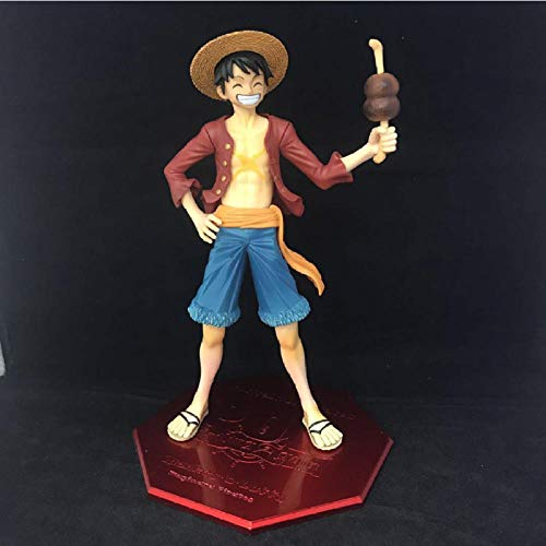 Anime Standbeeldone Piece 20Th Anniversary Monkey D Luffy Ham Ver Model Pvc Collectible Kids Decoration Gift Doll Japan Anime Action Figure 22Cm