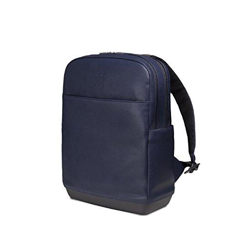 Moleskine Classic Pro Backpack Zaino Professionale da Ufficio e Lavoro, per Uomo, Porta PC per Laptop, iPad, Notebook Fino a 15'', Dimensioni 43 X 33 X 14 Cm, Colore Blu Zaffiro