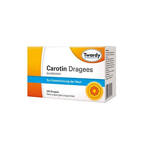 Twardy Carotin Dragees kombiniert zur Unterstützung der Haut, 240 St. Tabletten