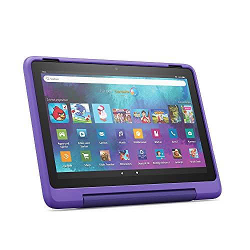 "Neu: das Fire HD 10 Kids Pro-Tablet | Ab dem Gr&schulalter | 25,6 cm (10,1 Zoll) großer Full-HD-Display (1080p), 32 GB, kindgerechte Hülle mit ""Graffiti""-Design"