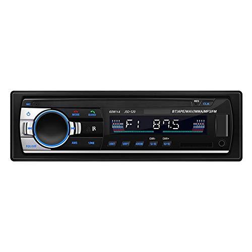 Funihut Autoradio Bluetooth handsfree stereo autoradio Bluetooth audio USB/SD/FM / MP3-speler met 4 geïntegreerde luidsprekers
