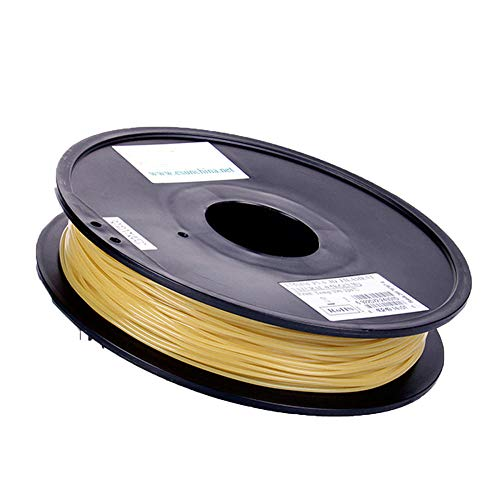 PVA Water-soluble Filament 1.75mm, 3D Printer Filament 0.5Kg, Soluble, Supportable,True color