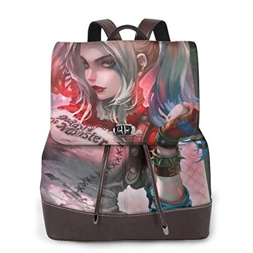 41kHjHgghFL Harley Quinn Backpacks for School