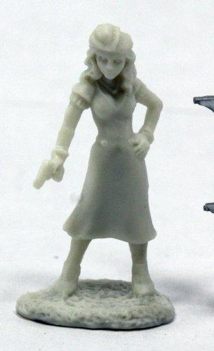 Pechetruite 1 x DEALANDS NOIR : FEMME FATALE - Reaper Bones miniature role playing and war game - 91011