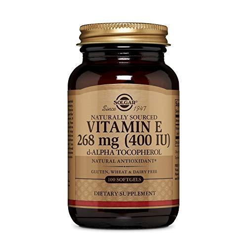 Solgar Vitamina E 268 mg (400 UI) Cápsulas blandas - Envase de 100
